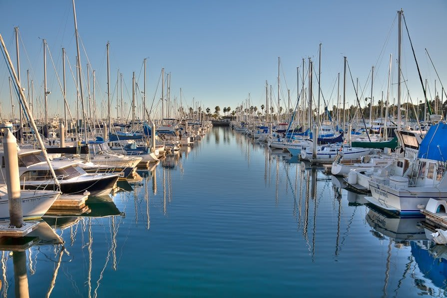 Cym Cabrillo Marina Is Located in the Port of Los Angeles West Channel