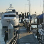 Film Production in California Yacht Marina